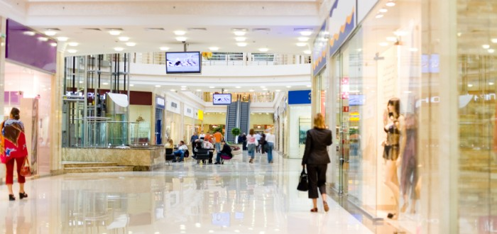 Shopping mall asbestos exposure